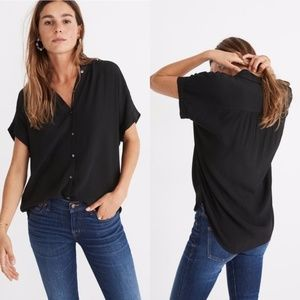 Madewell Central Drapey Shirt Size XS